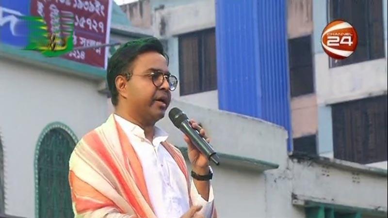 'চমৎকার ঢাকা উপহার দেব' ভোট চাইছেন মেয়র সাঈদ খোকন